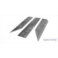 THREE KNIVES TRIMMERS PIVANO TRIS 31X45 PLATINA